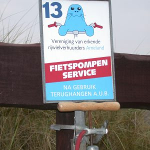 Fietspompservice Ameland