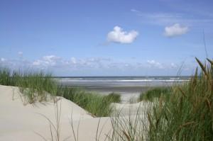 duindoorkijkje strand ameland