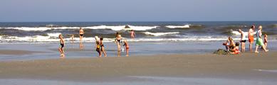 Het strand bij Buren Ameland, foto van Donna Antonia