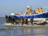ameland reddingsboot in zee